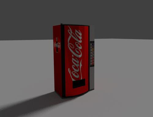 Low Poly Vending Machine preview image