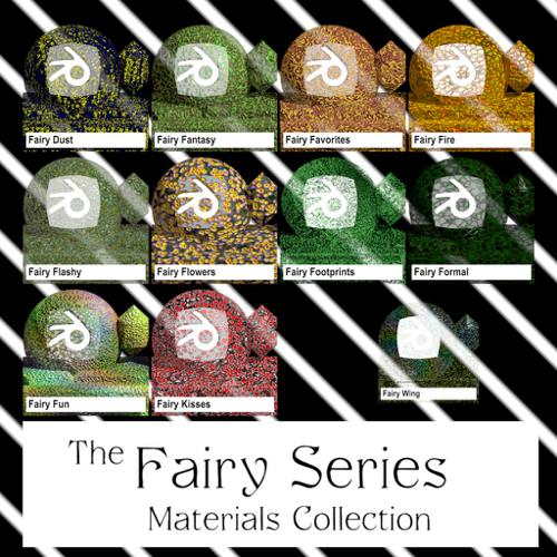 Fairy Series Materials Collection preview image