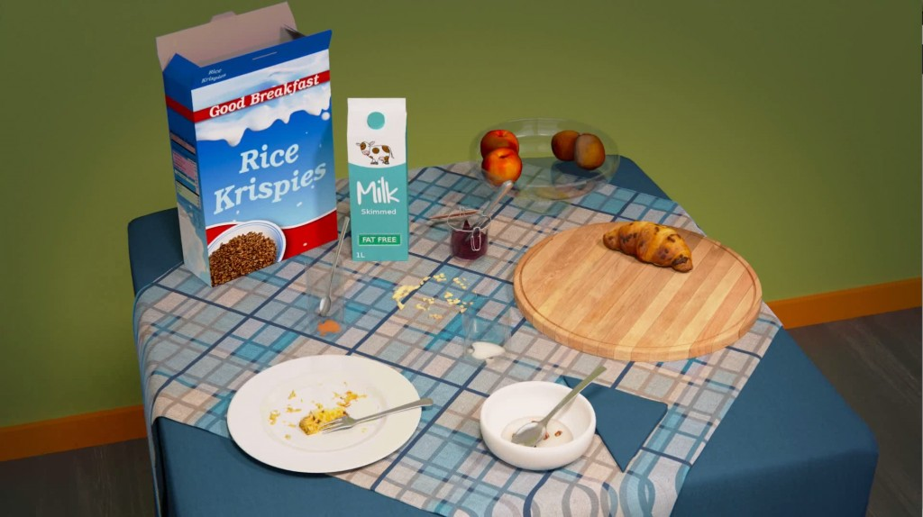 Breakfast table set (continental) preview image 2