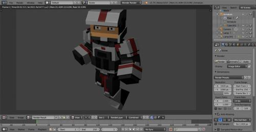 Minecraft Medic Soldier preview image