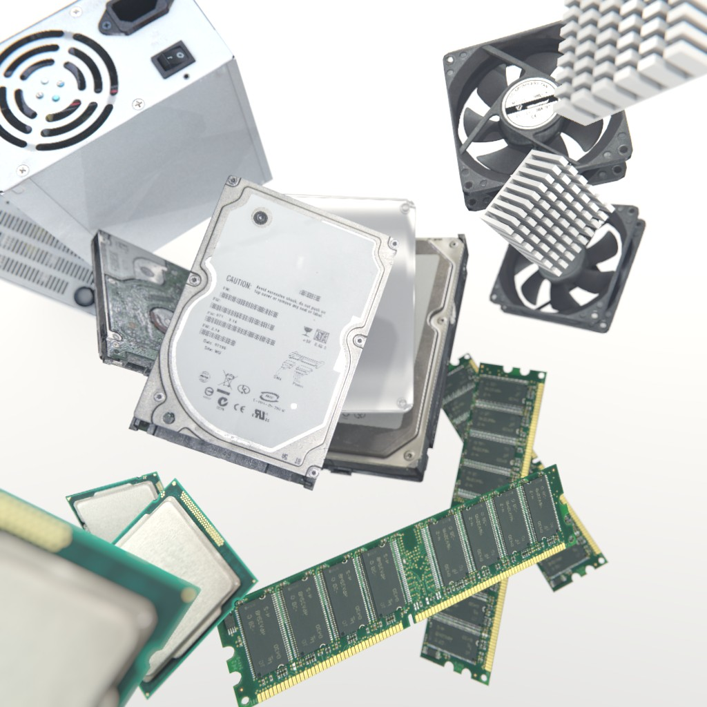 Set of Computer Components preview image 1