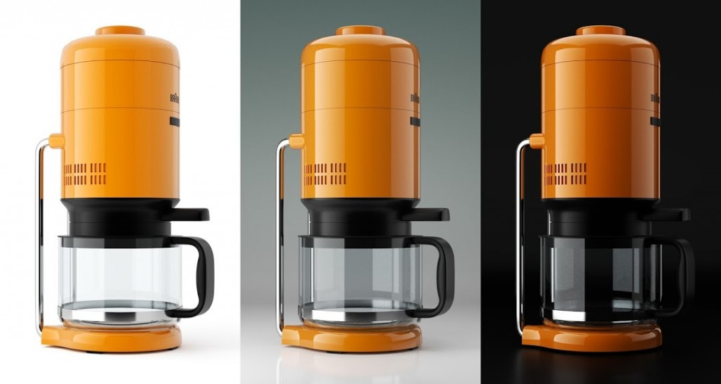 Studio Rendering: Braun KS 20 Coffee Maker preview image 1