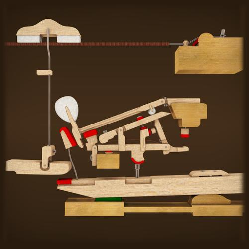 Piano Hammer Action mechanism preview image