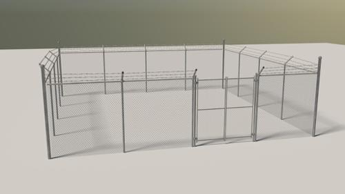 Fence with Gate preview image