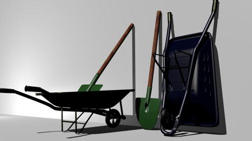 Wheelbarrows and Shovels preview image