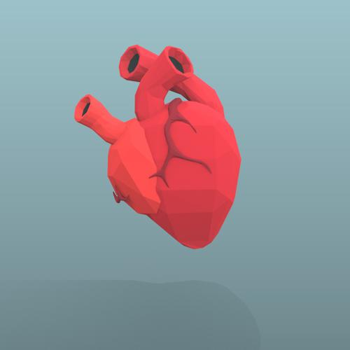 Low Poly Heart preview image