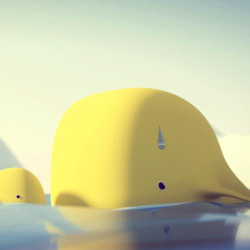 Whale + Lowpoly Ocean preview image