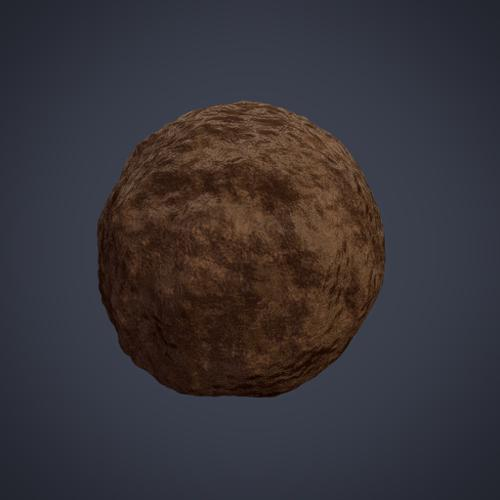 Procedural Dirt Shader preview image