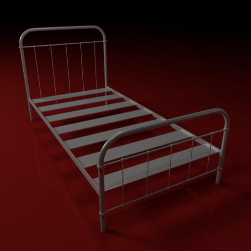 Metal bedframe preview image