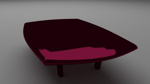 high poly Table preview image