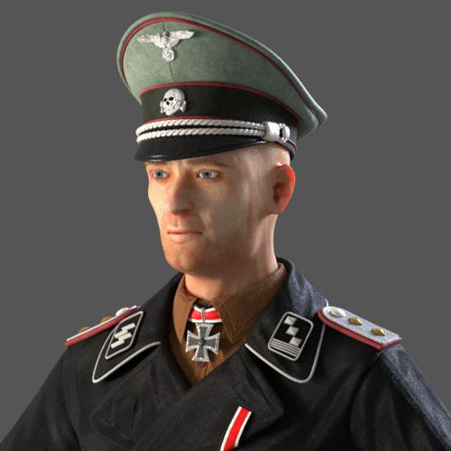 Waffen SS Panzer Captain preview image