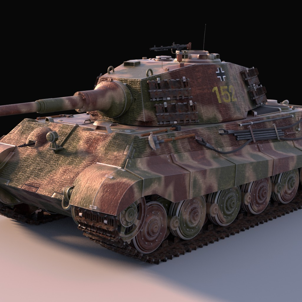 King Tiger heavy tank preview image 1