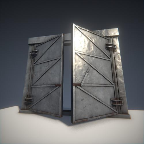 BGE - Large Metal Doors preview image