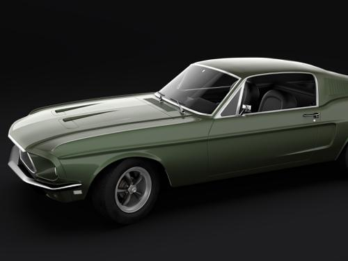 1968 Mustang GT Fastback preview image