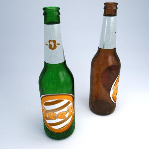Beer bottle preview image