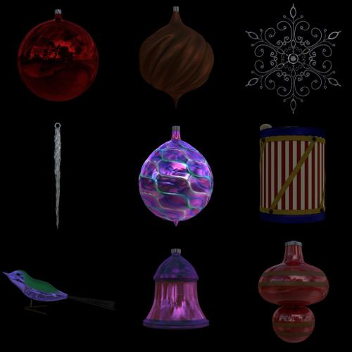 Christmas Ornaments preview image