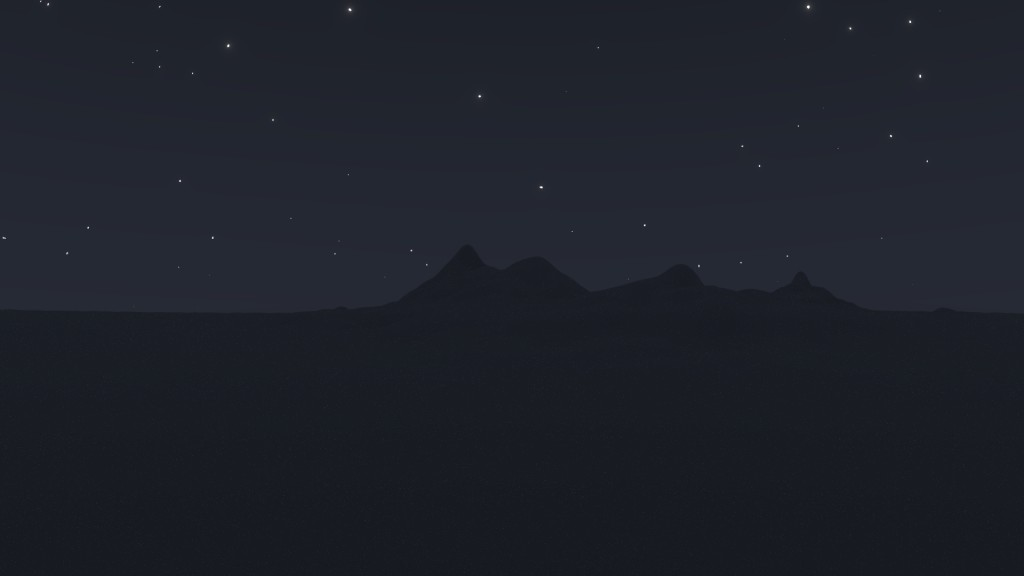 procedural night sky with stars preview image 4
