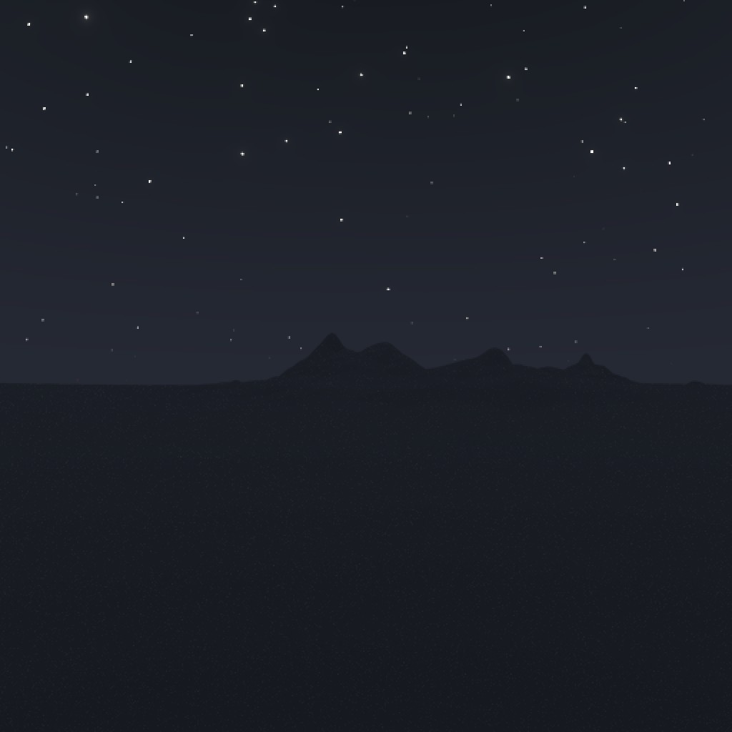 procedural night sky with stars preview image 3