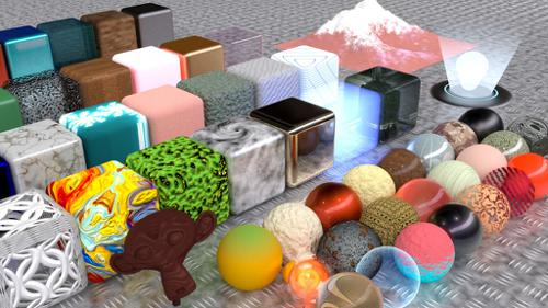 Meta's Massivest Materials Library Addon preview image