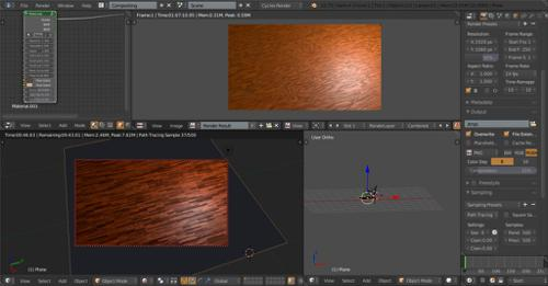 Wood shader preview image