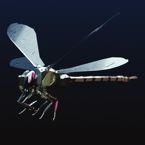 Mechanical Dragonfly preview image