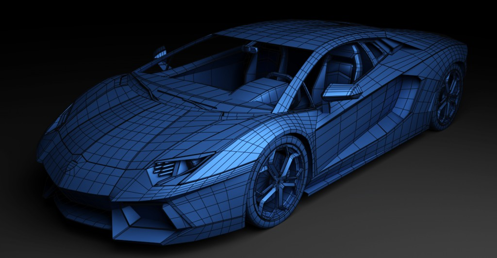 Lamborghini Aventador(For games) preview image 3