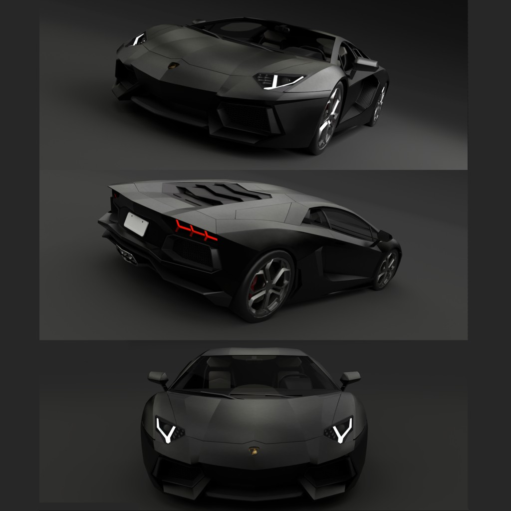 Lamborghini Aventador(For games) preview image 1
