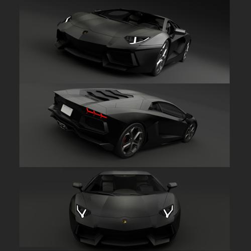 Lamborghini Aventador(For games) preview image