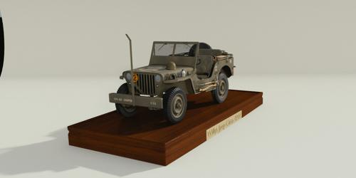 Willys Jeep Circa 1944 preview image