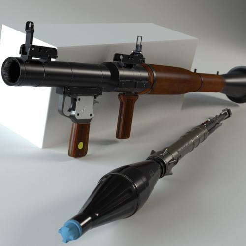RPG-7 Rocket Launcher preview image