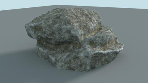 Cycles Procedural Rock Material + Sculpted Rock preview image
