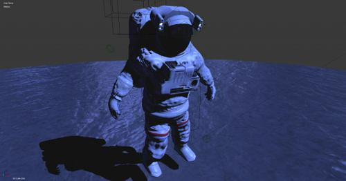 BGE Directional Movement Astronaut preview image