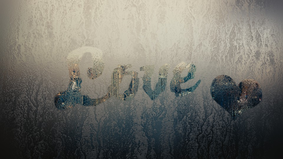 Fog on Glass with Text preview image 1