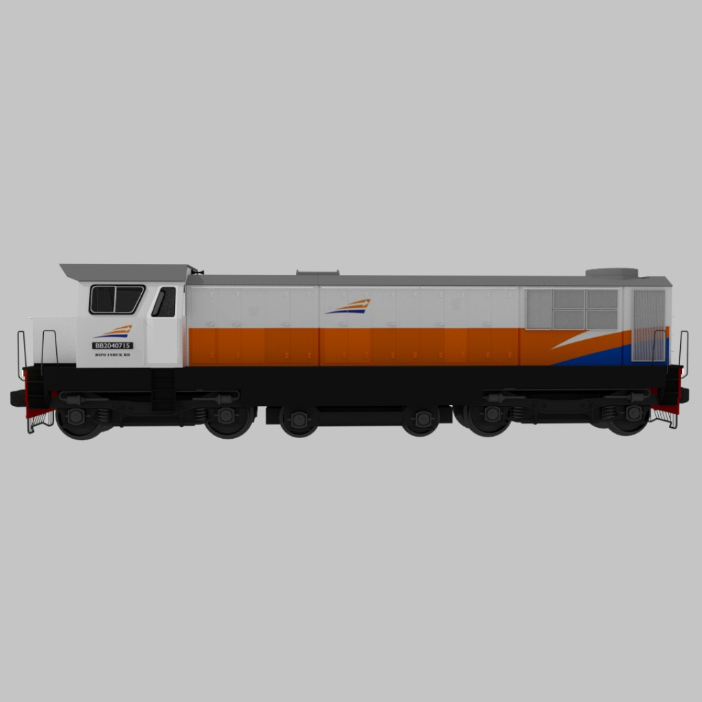 SLM HGm4/6 (BB204) Locomotive preview image 2