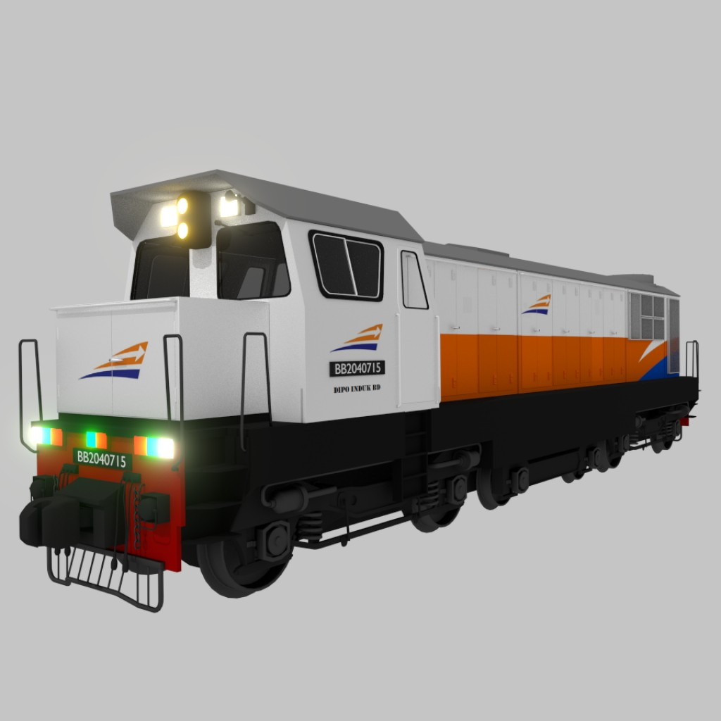 SLM HGm4/6 (BB204) Locomotive preview image 1