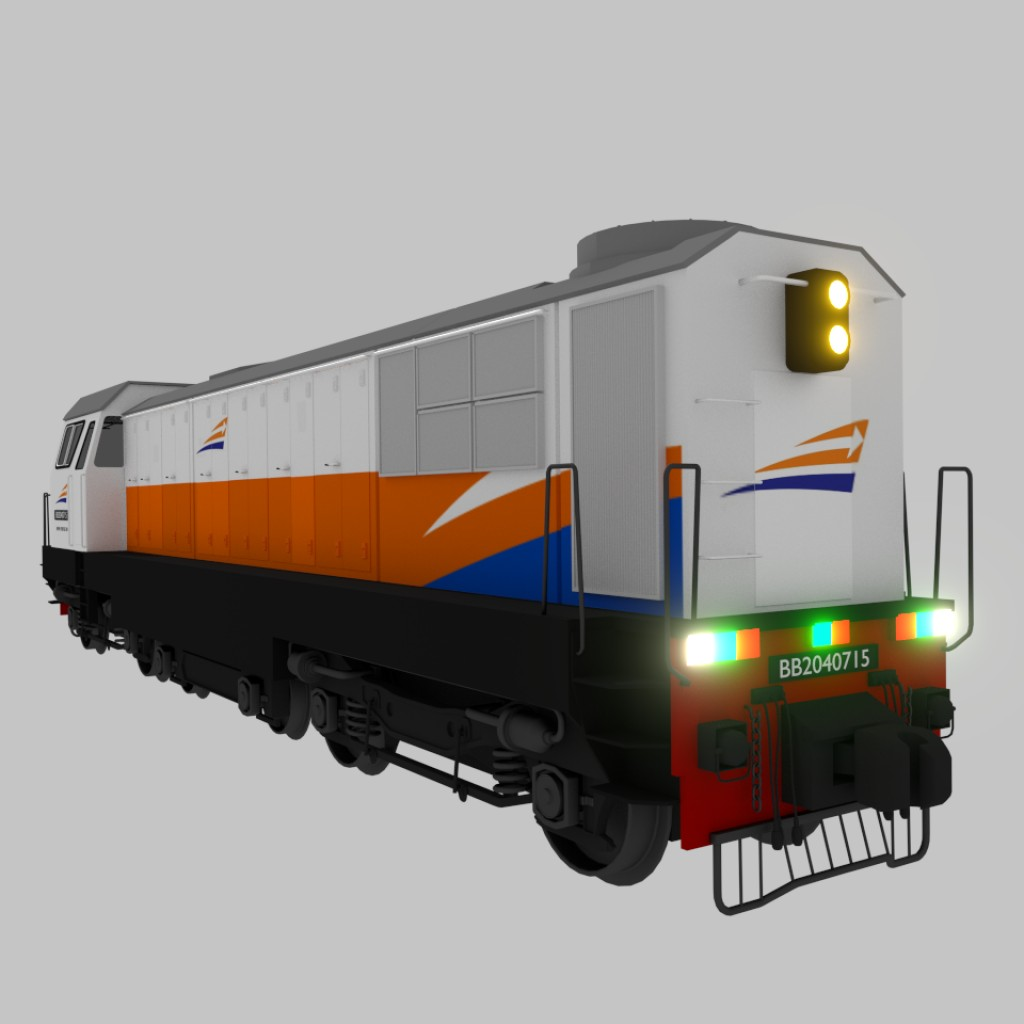 SLM HGm4/6 (BB204) Locomotive preview image 3