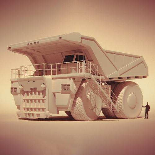 Mining Haul Truck preview image