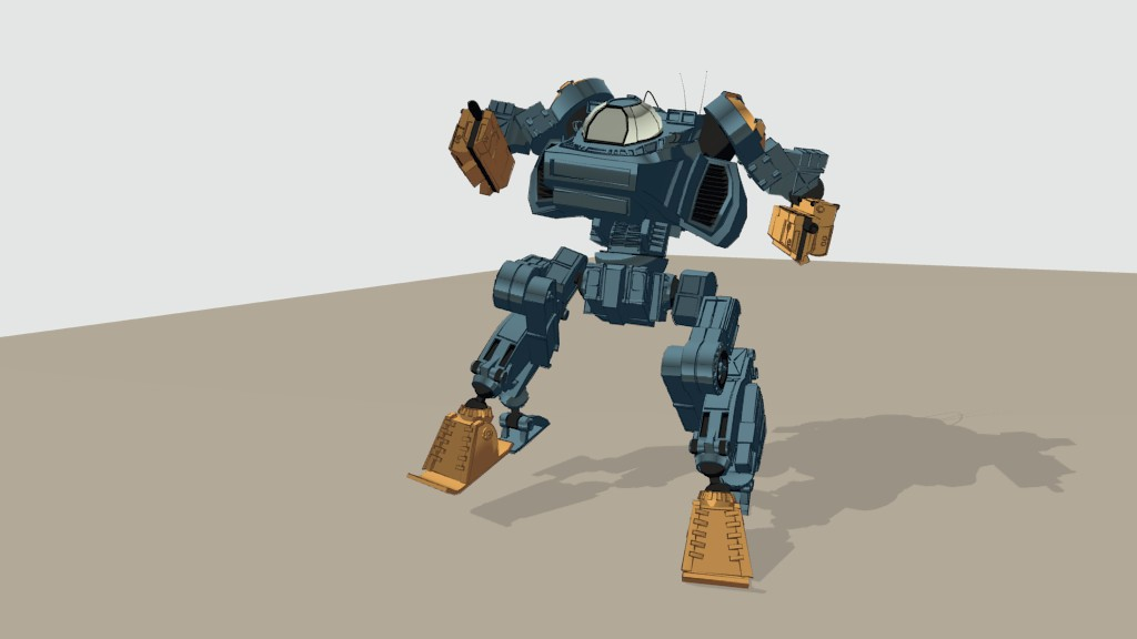 Mecha Rig (Cell Shade) preview image 1
