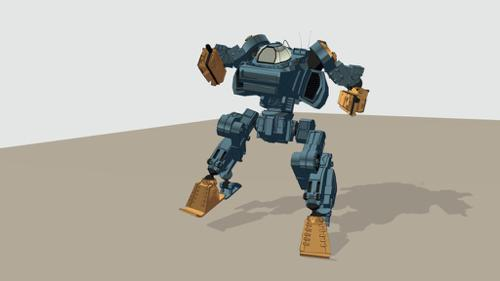Mecha Rig (Cell Shade) preview image