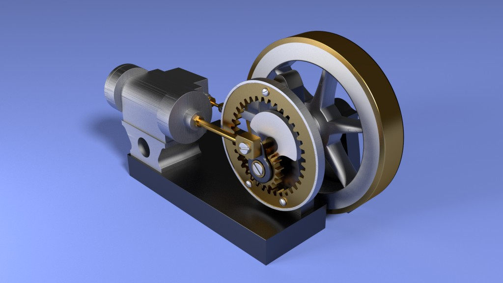 Geared Steam Engine preview image 1