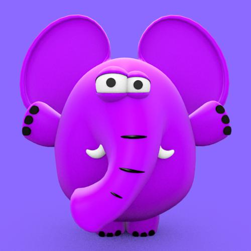 Cute Elephant preview image