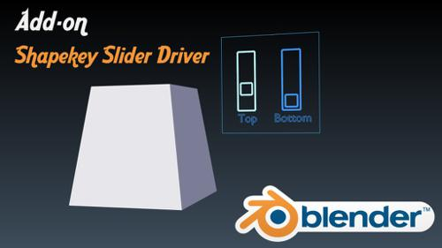 Add-on: Shapekey Slider Driver preview image