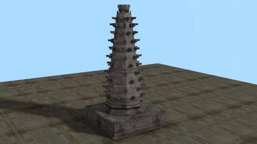 INDIAN MONUMENT DEEPSTAMBHA preview image