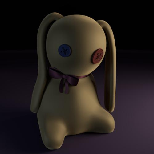 Weird rabbit doll preview image