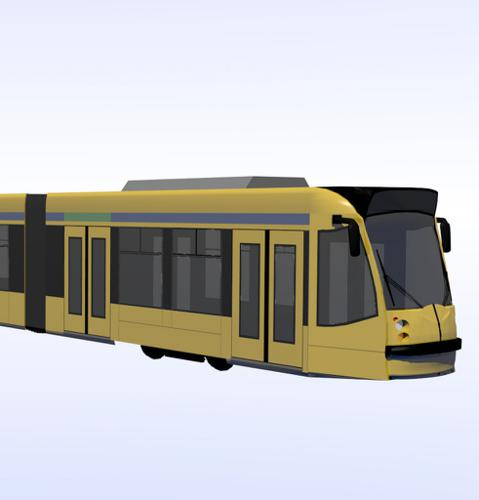 Combino tram, Budapest preview image
