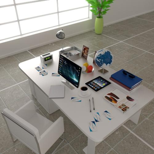 Domestic office table preview image