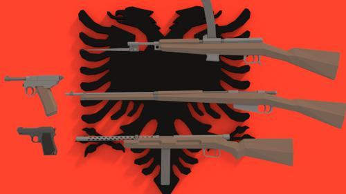 Albanian WW2 Weapons preview image