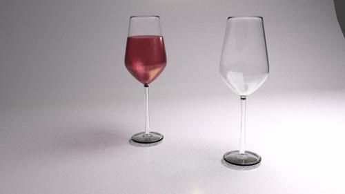 Glass of wine preview image