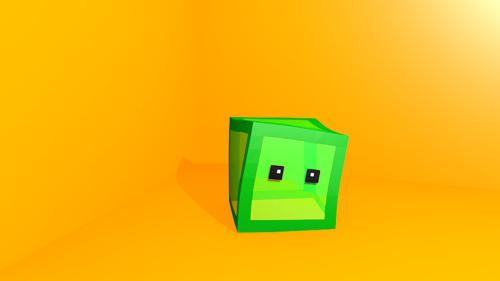 Minecraft Slime Rig (Own design) preview image