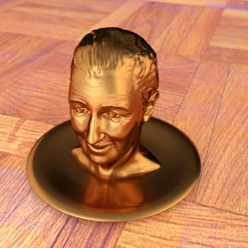 Walt Disney's bust preview image